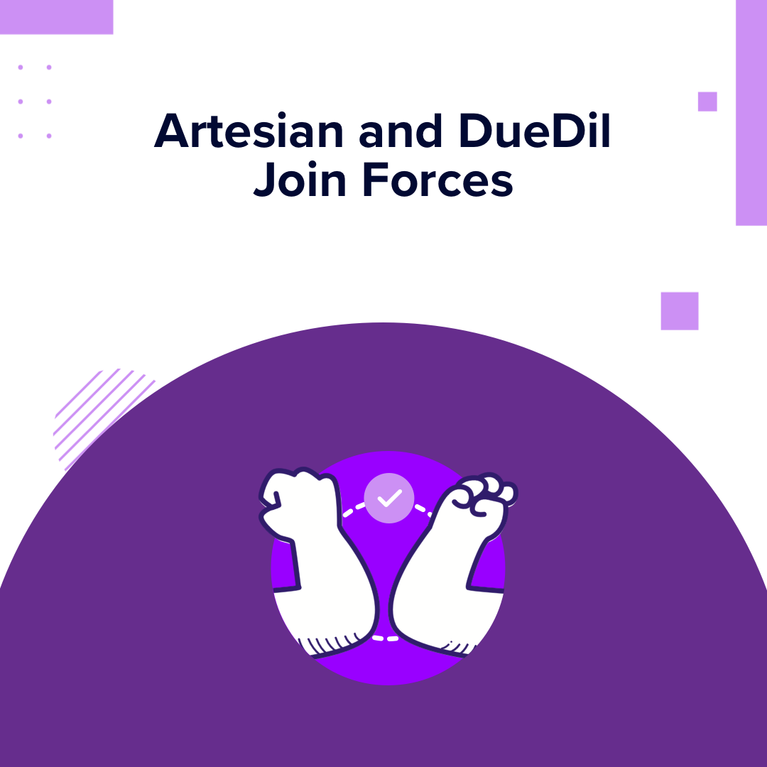 Artesian + DueDil merge to tackle FSI's biggest client lifecycle challenges