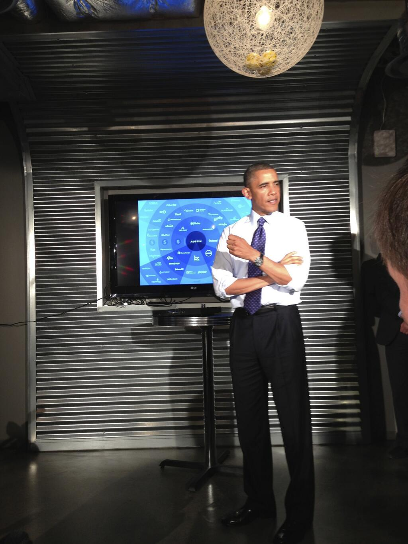 President Obama and the Austin Tech Scene