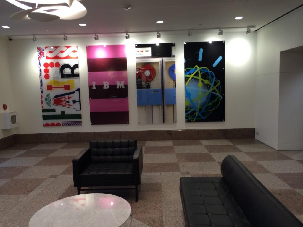 The Lobby on the first floor