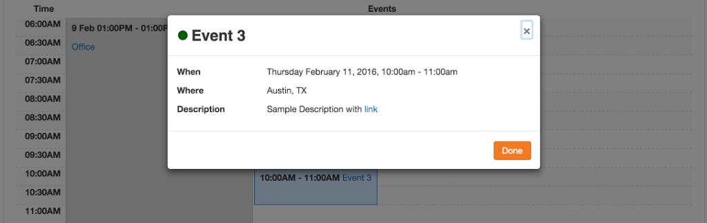 calendar event screenshot