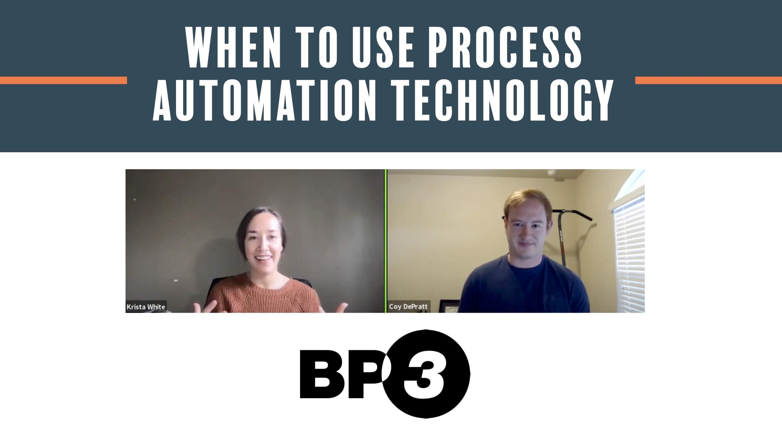 When to use Process Automation Technology