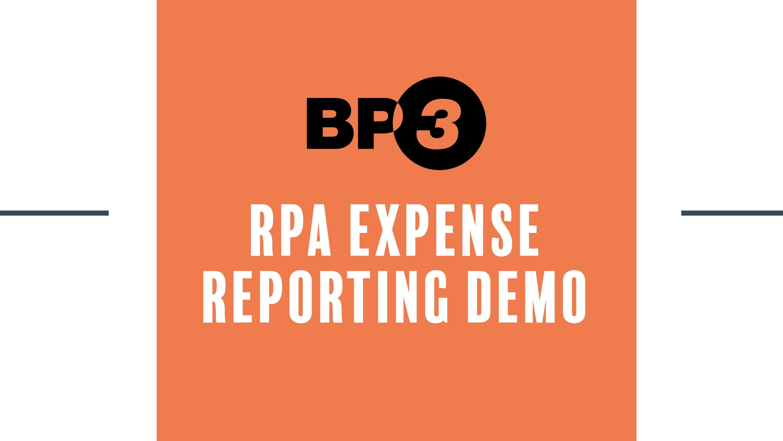 RPA Expense Reporting Demo