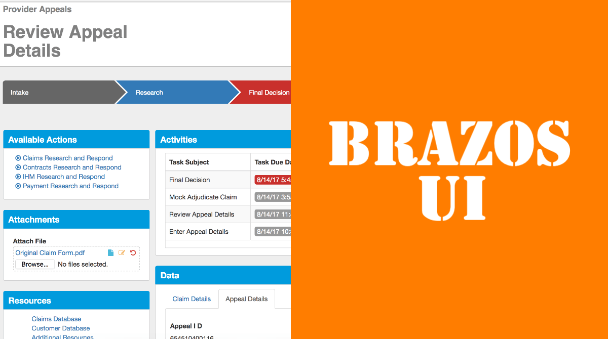 Important updates to the best UI for IBM Automation: Brazos UI 6.0