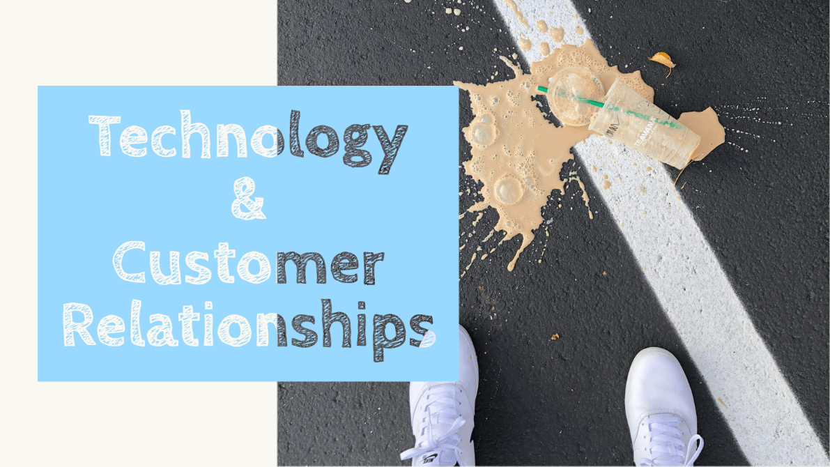 A  recently published report on a survey  by IDG (sponsored by a BPM software firm), on the subject of whether technology delivers stronger customer relationships.? Full disclosure: my personal opinio