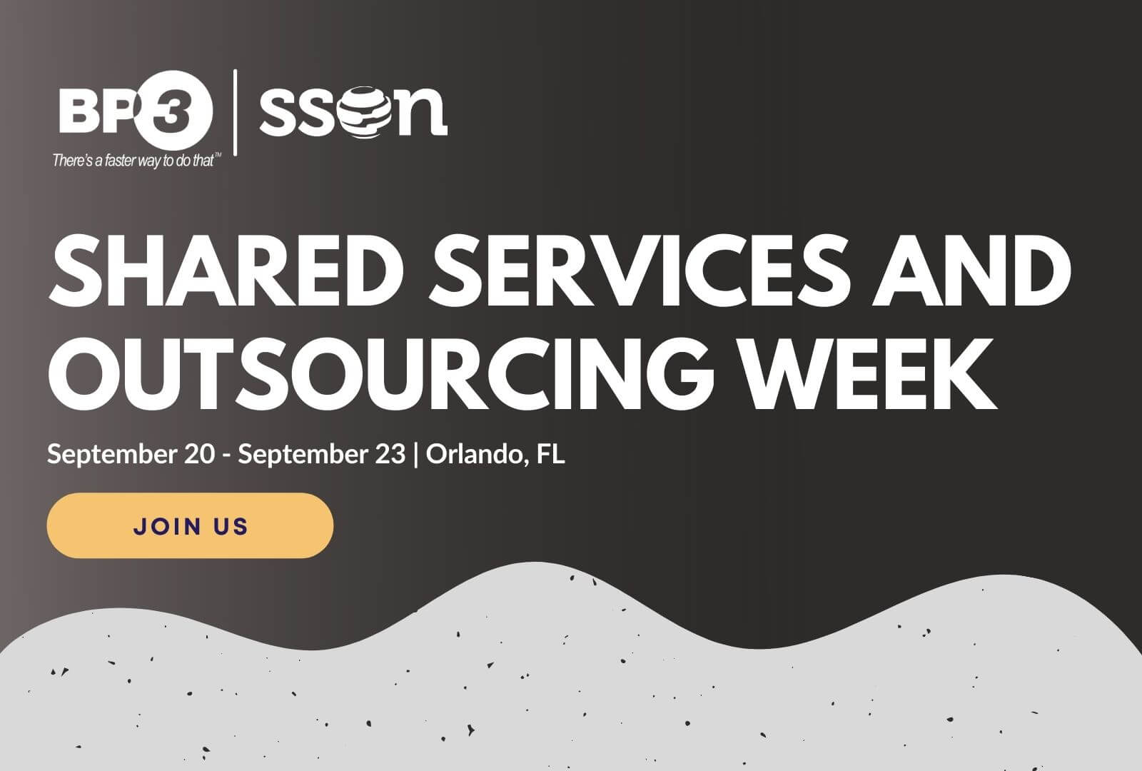 We are heading back to our first in-person event in more than a year and it is a great feeling. This week a joint group from Agilify and BP3 are heading to Orlando for Shared Services and Outsourcing Week.