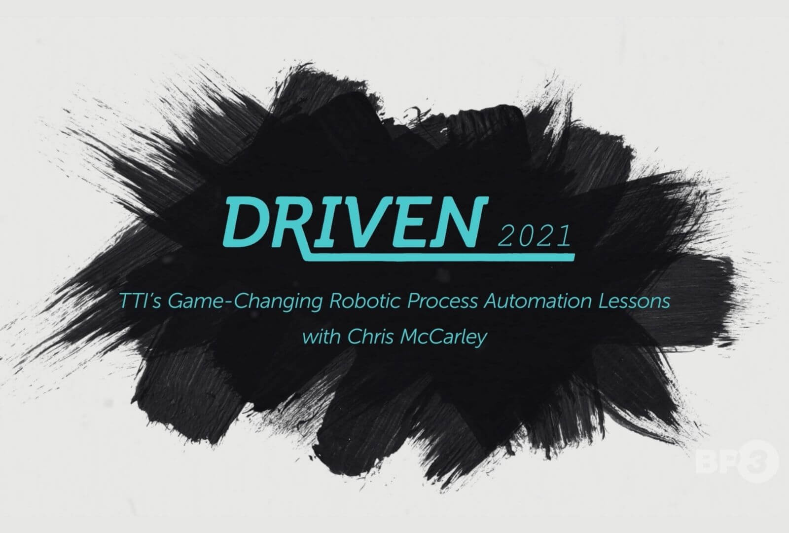 We had so much fun on September 14th talking with TTI's Chris McCarley about their use of Robotic Process Automation (RPA) during the pandemic.
