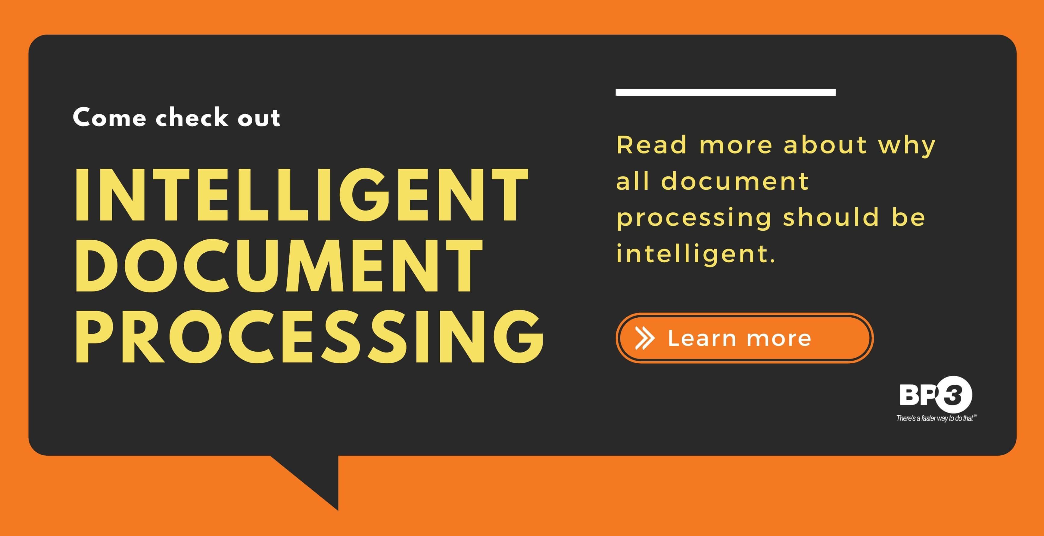 Intelligent Document Processing Banner Image