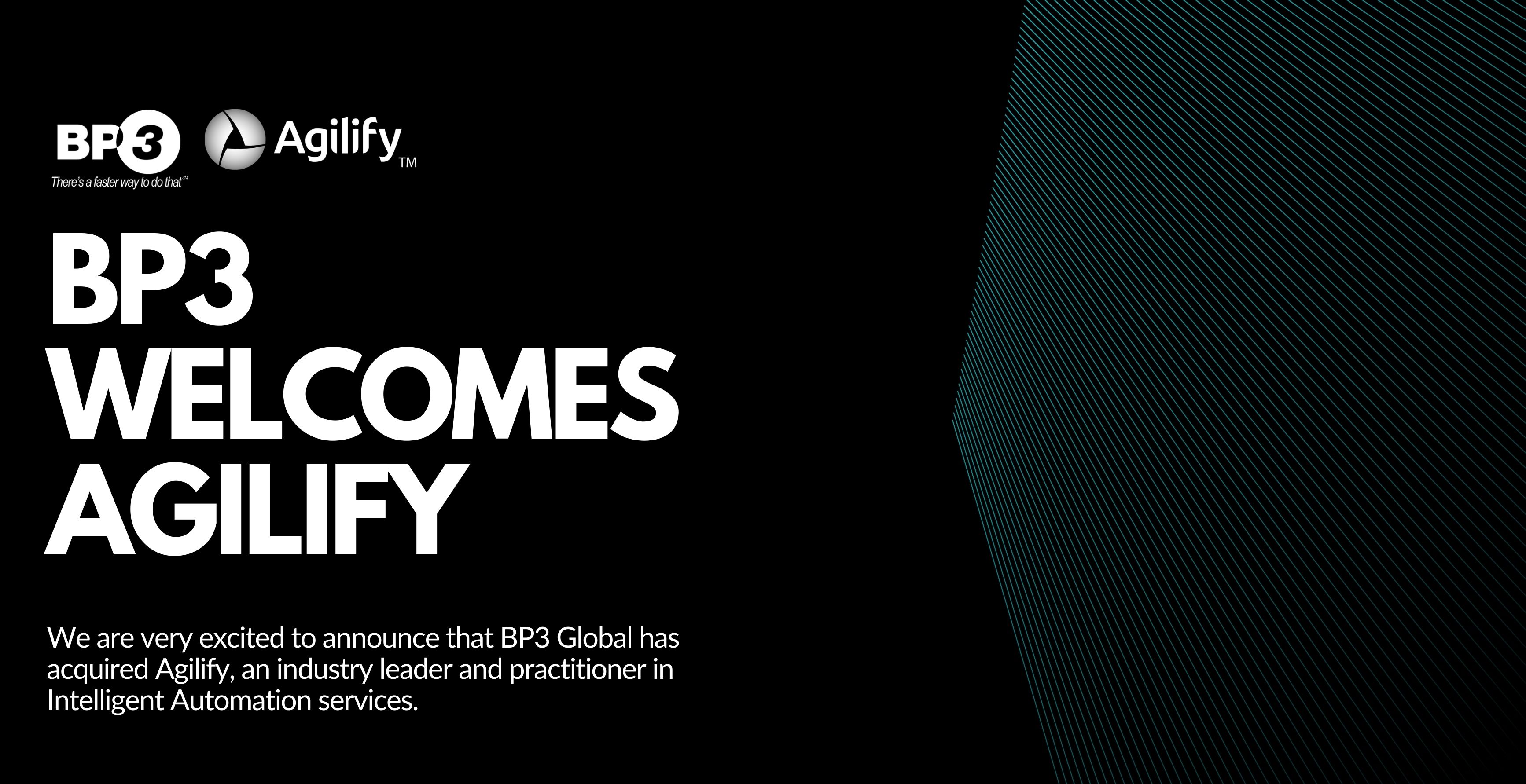 BP3 Acquires Agilify Banner Image
