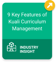 9 Key Features of Kuali Curriculum Management Industry Insight