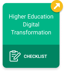 Higher Education's Digital Transformation Checklist