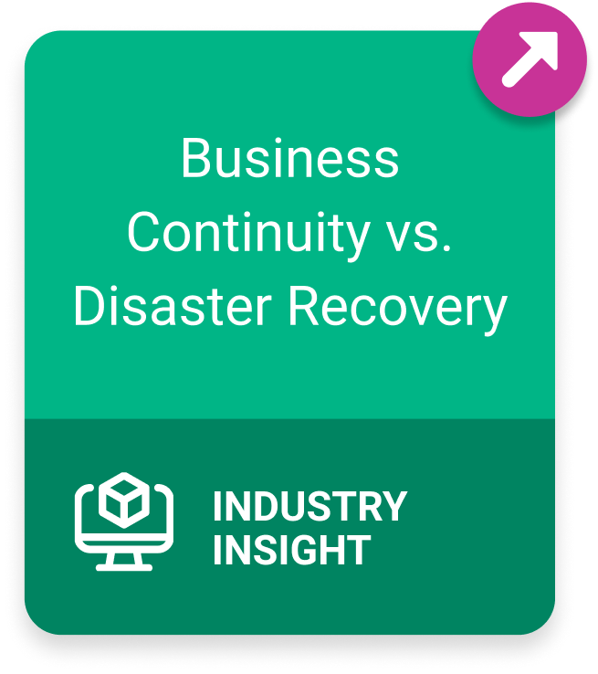 Link to Business Continuity vs Disaster Recovery blog post