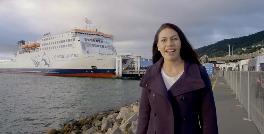 Flight Centre Interisland ferry