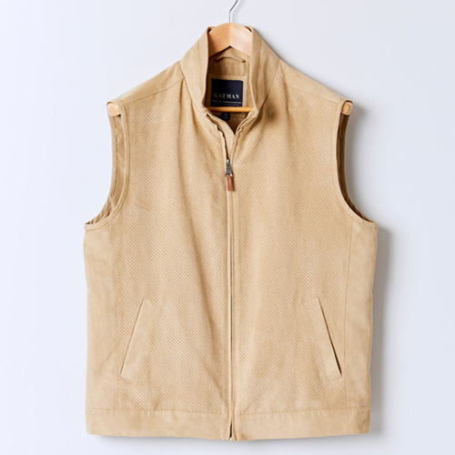 Gazman Perforated Suede Touch Vest