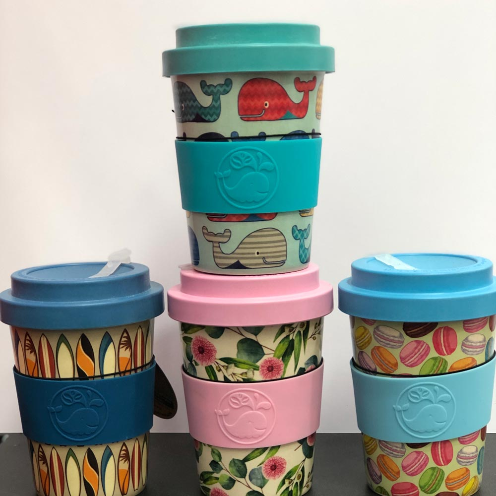Noosa Village News - Bamboo Coffee Cups