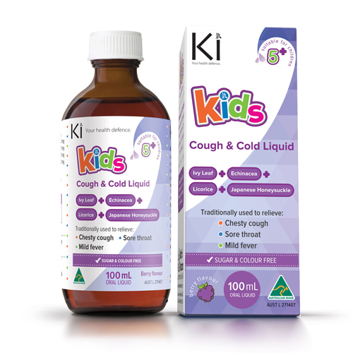 Kids Cough & Cold Liquid