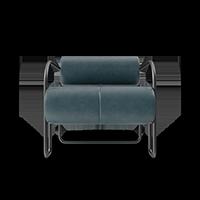Chair facing forward