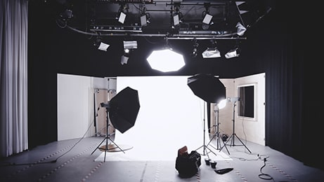 Photography shoot set up