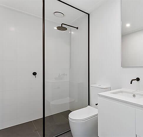 Silent Exhaust Fan in bathroom.