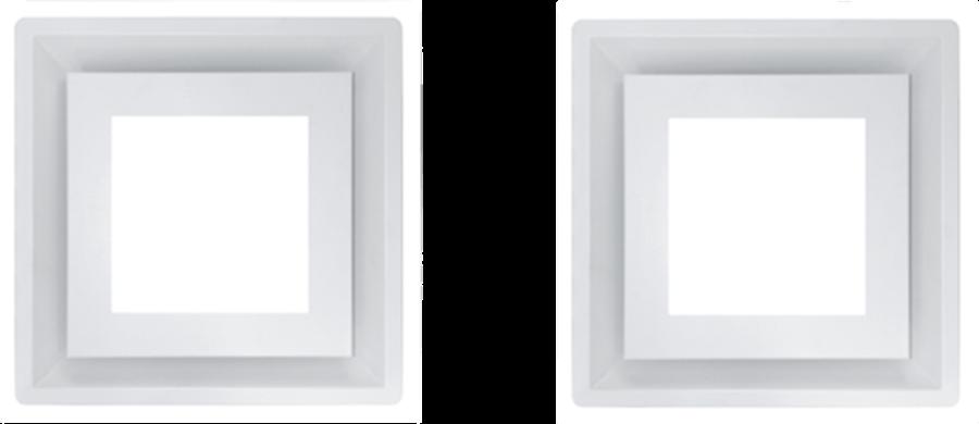 Schweigen IN. Silent Paradigma Cassette Rangehood (x2) White
