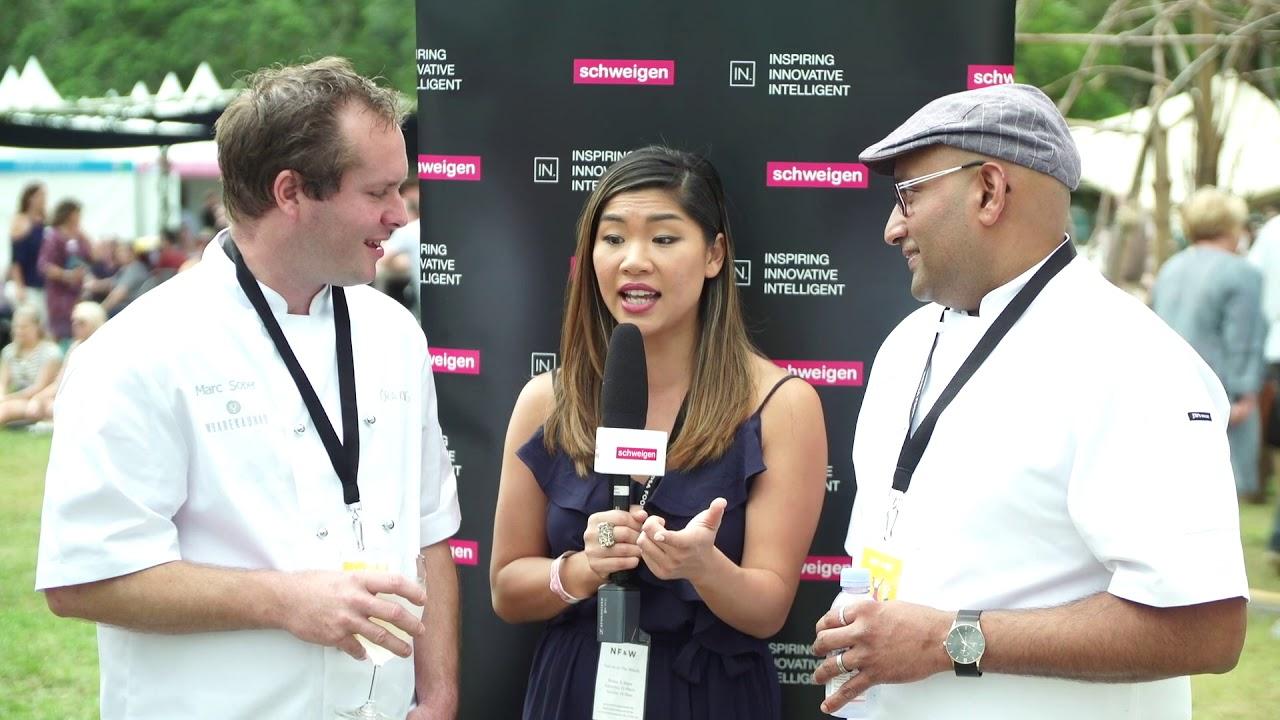 Noosa Food & Wine Festival Mini Series | Talking Ora King Salmon with Marc Soper & Chetan Pangam