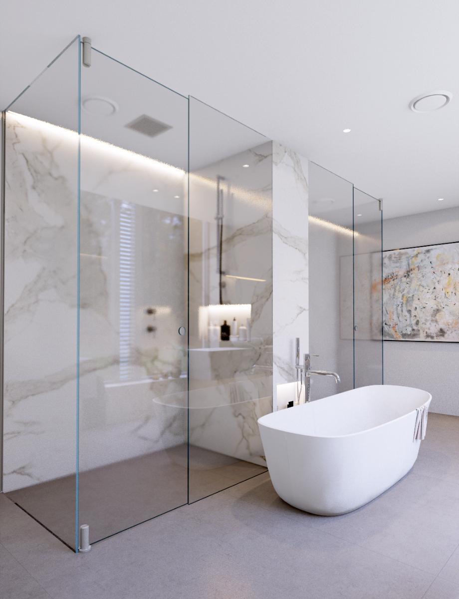 Bathroom by Minosa Design featuring BR500