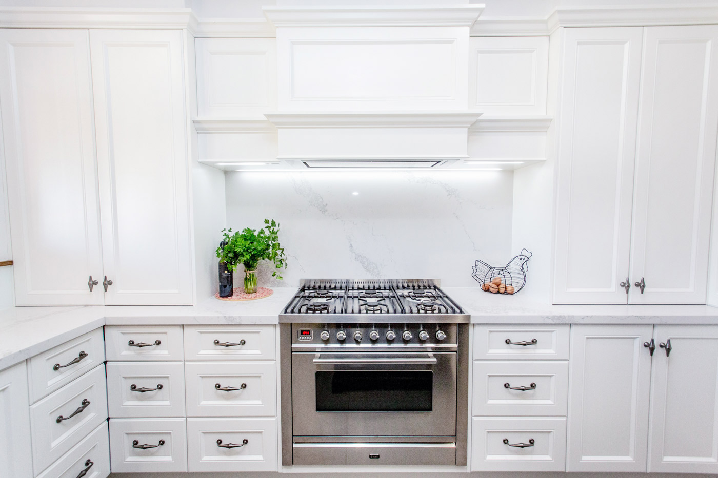 When these owners went back to the family farm they wished to update the homestead kitchen.