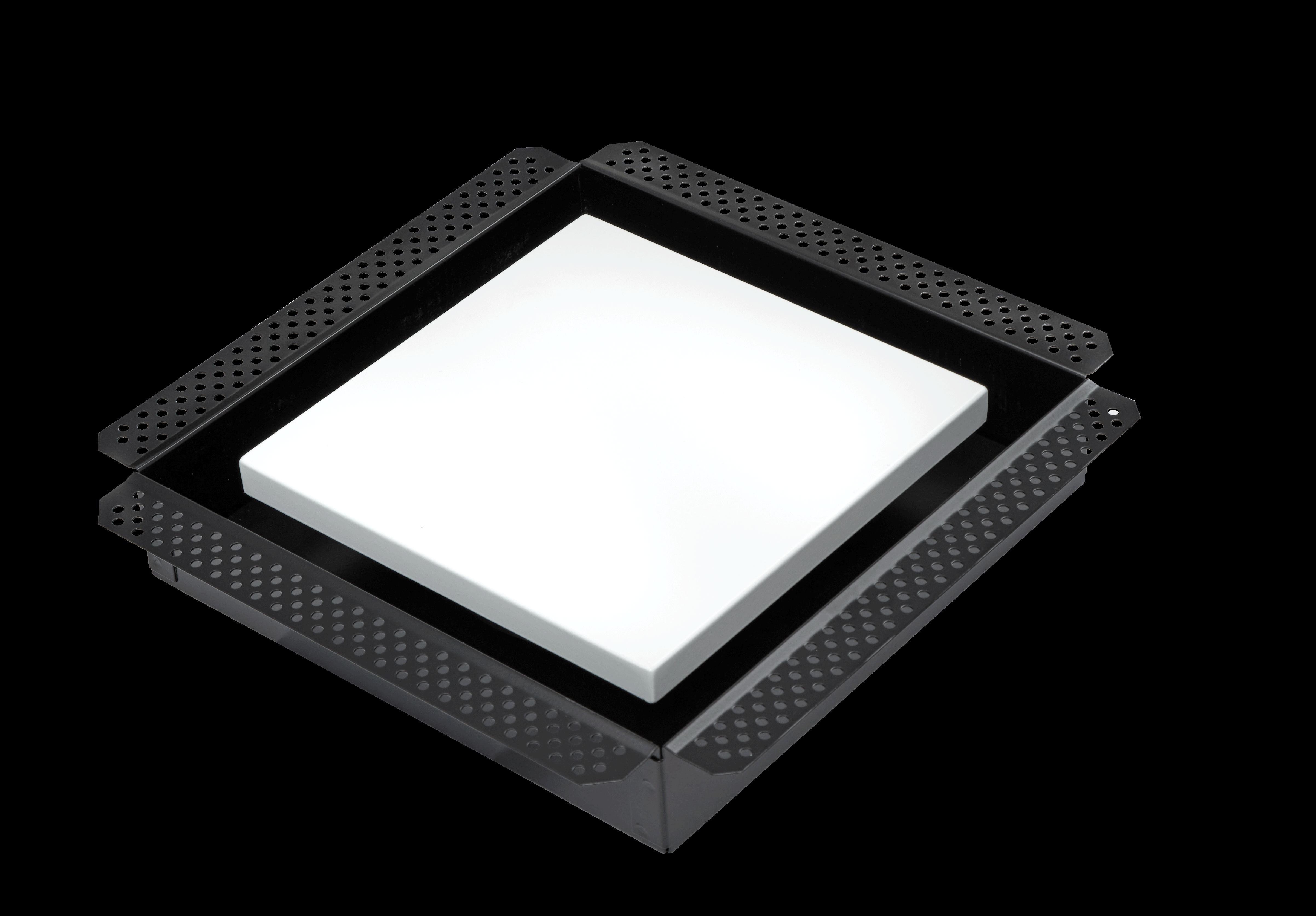 Schweigen Silent Exhaust Fan (White Square Integrated Diffuser)