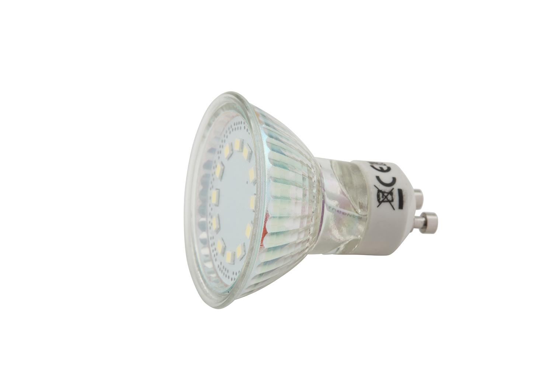 3.5W GU10 LED Globe (set of 2)