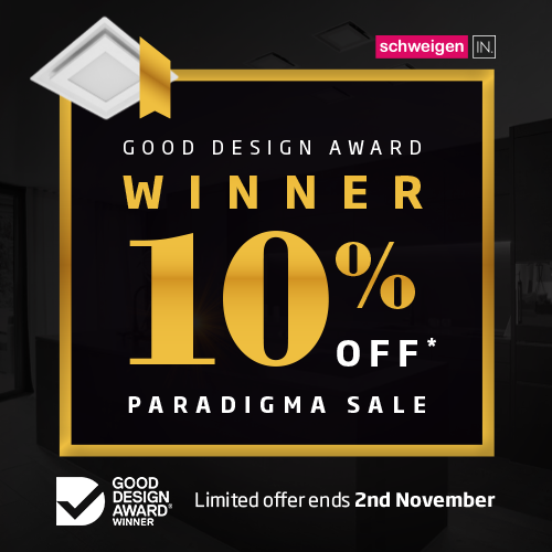 Schweigen IN. 10% Off Paradigma Sale 2020