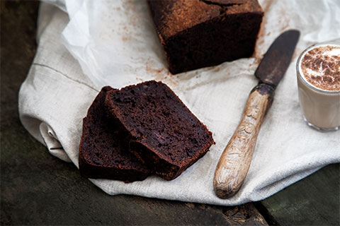 Fudgy Chocolate Banana Bread