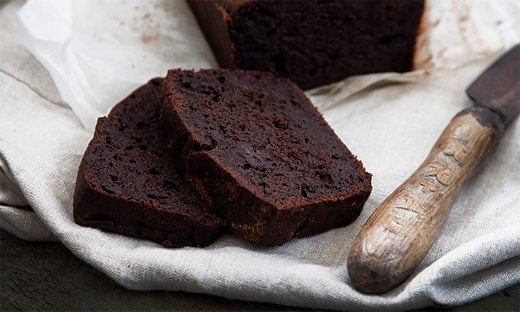 Fudgy Chocolate Banana Bread