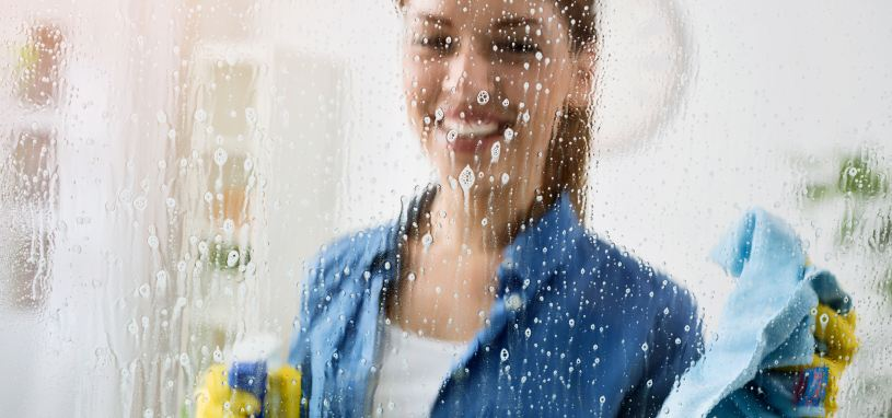 window cleaning chemical residue