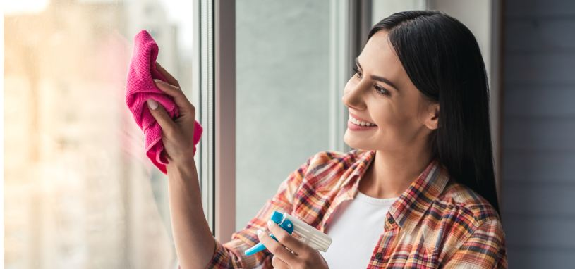 Mistakes when cleaning windows