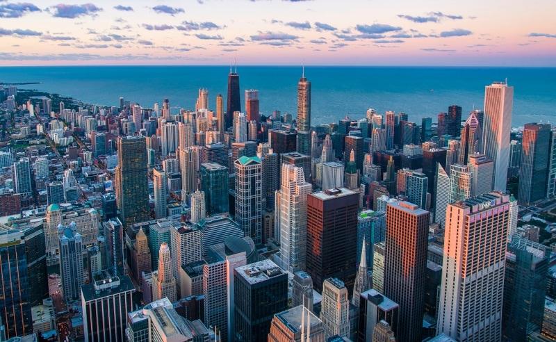 Chicago Aeriel View