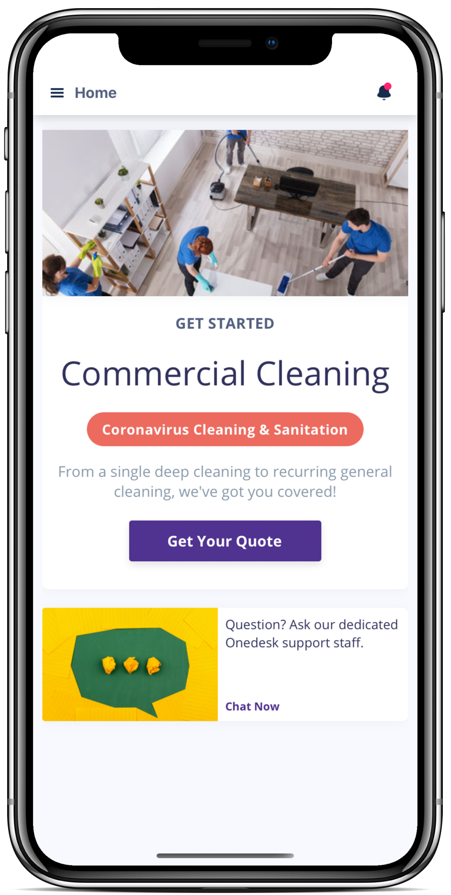 Onedesk Cleaner