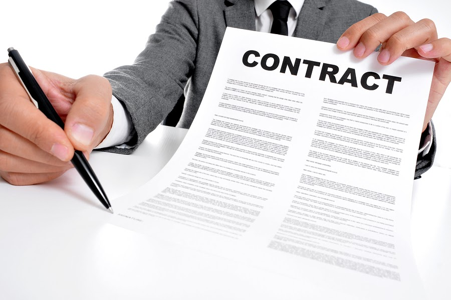 contract for cleaning services