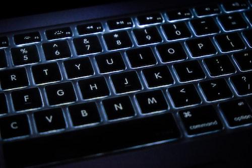 computer keyboard getting cleaned