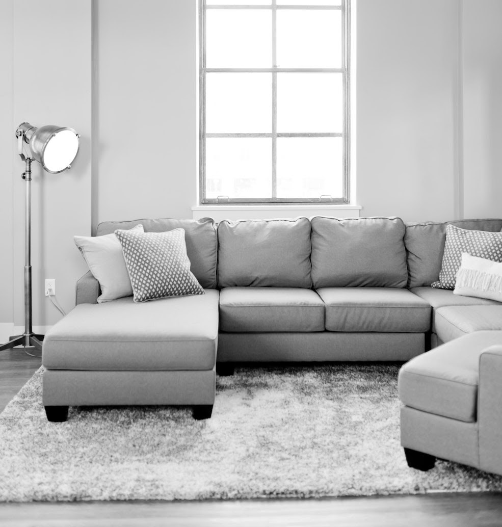 a modern sectional sofa couch