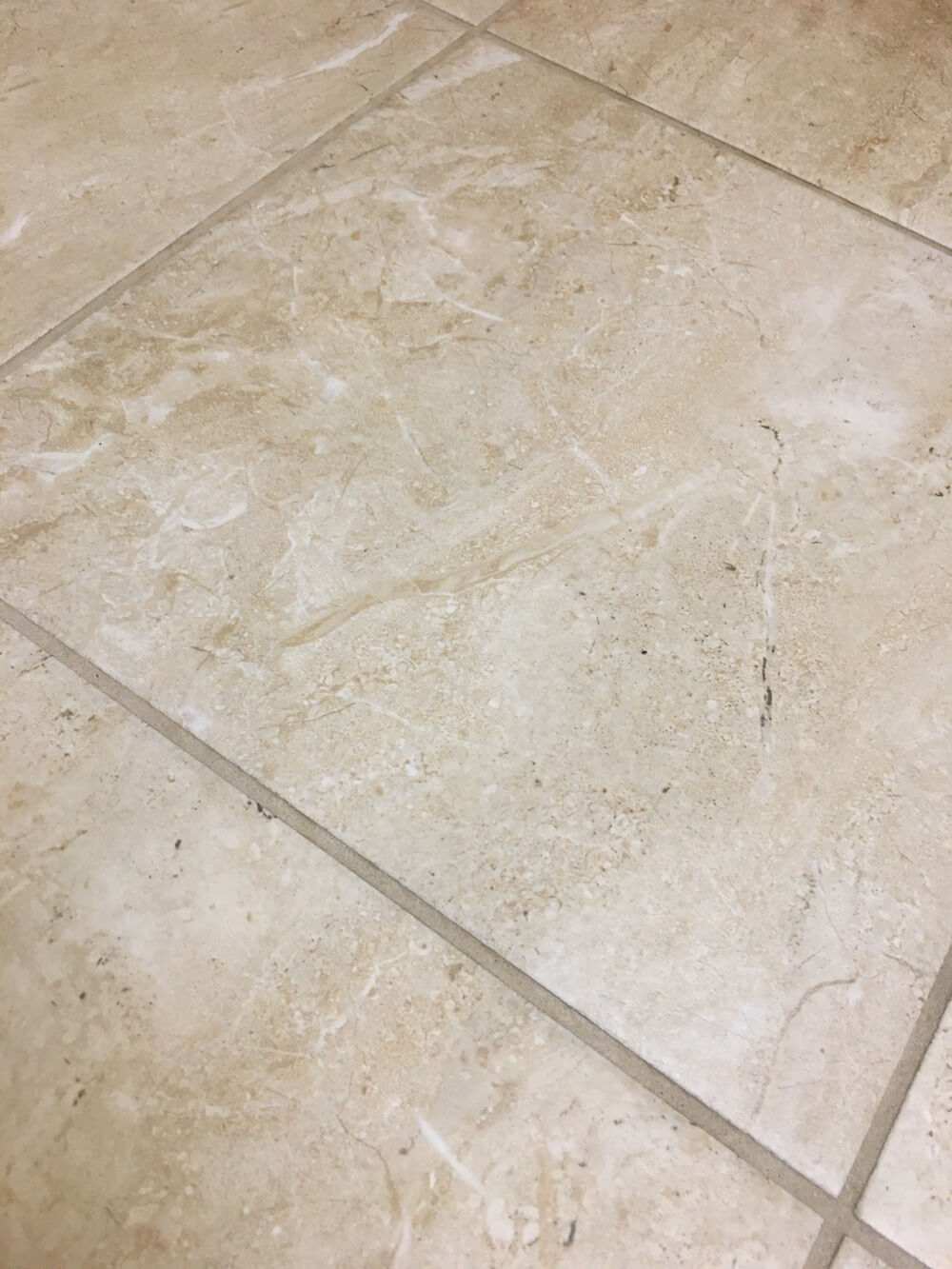 dirty bathroom tile floors