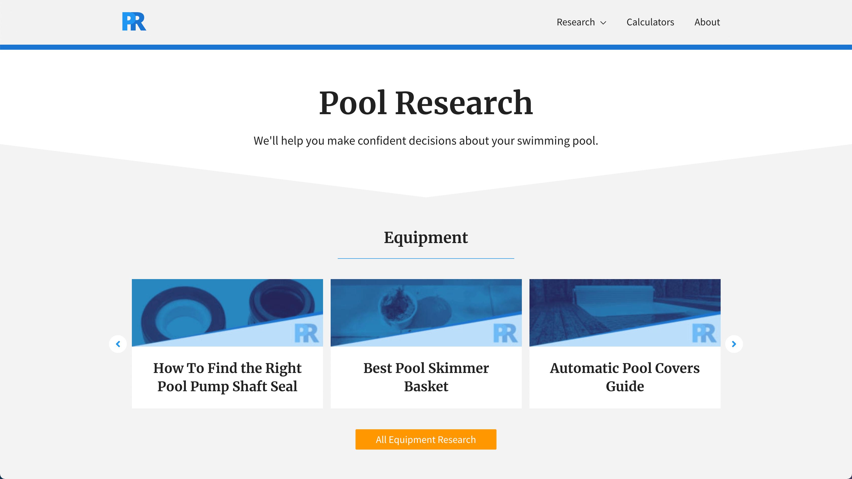 pool research blog