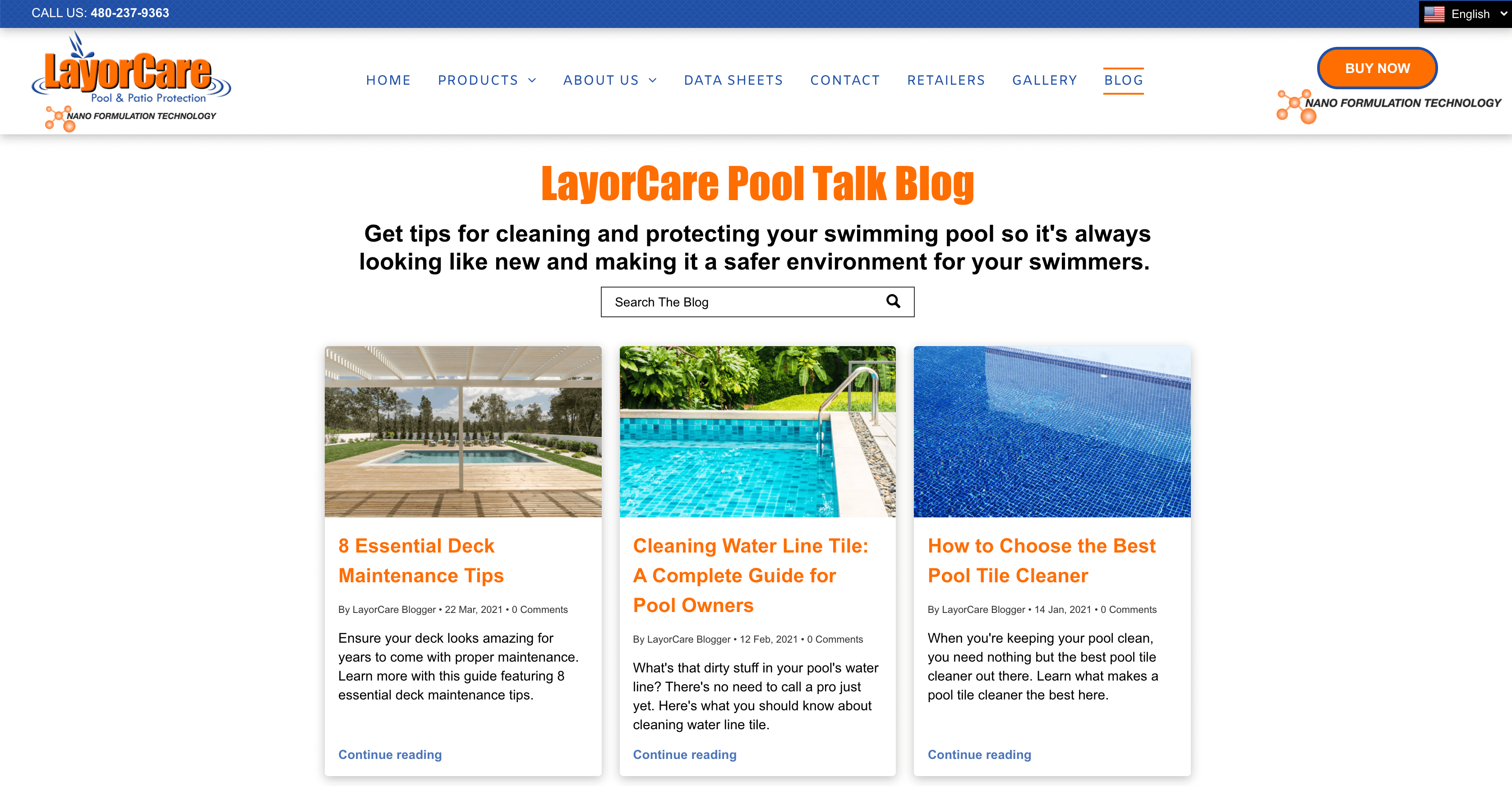 LayorCare pool talk blog