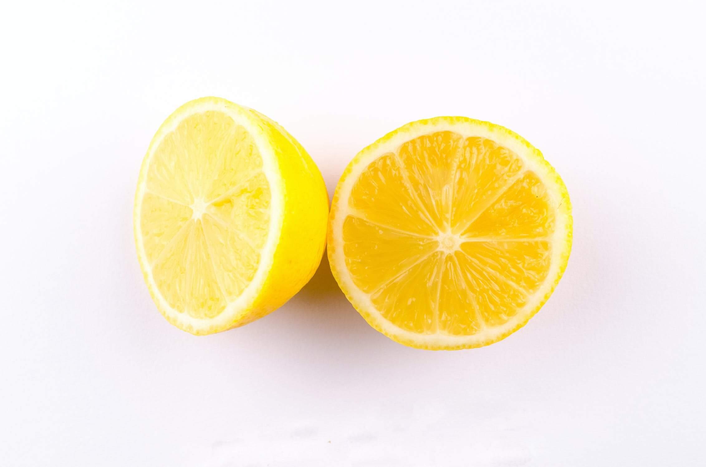 lemons used for removing odors