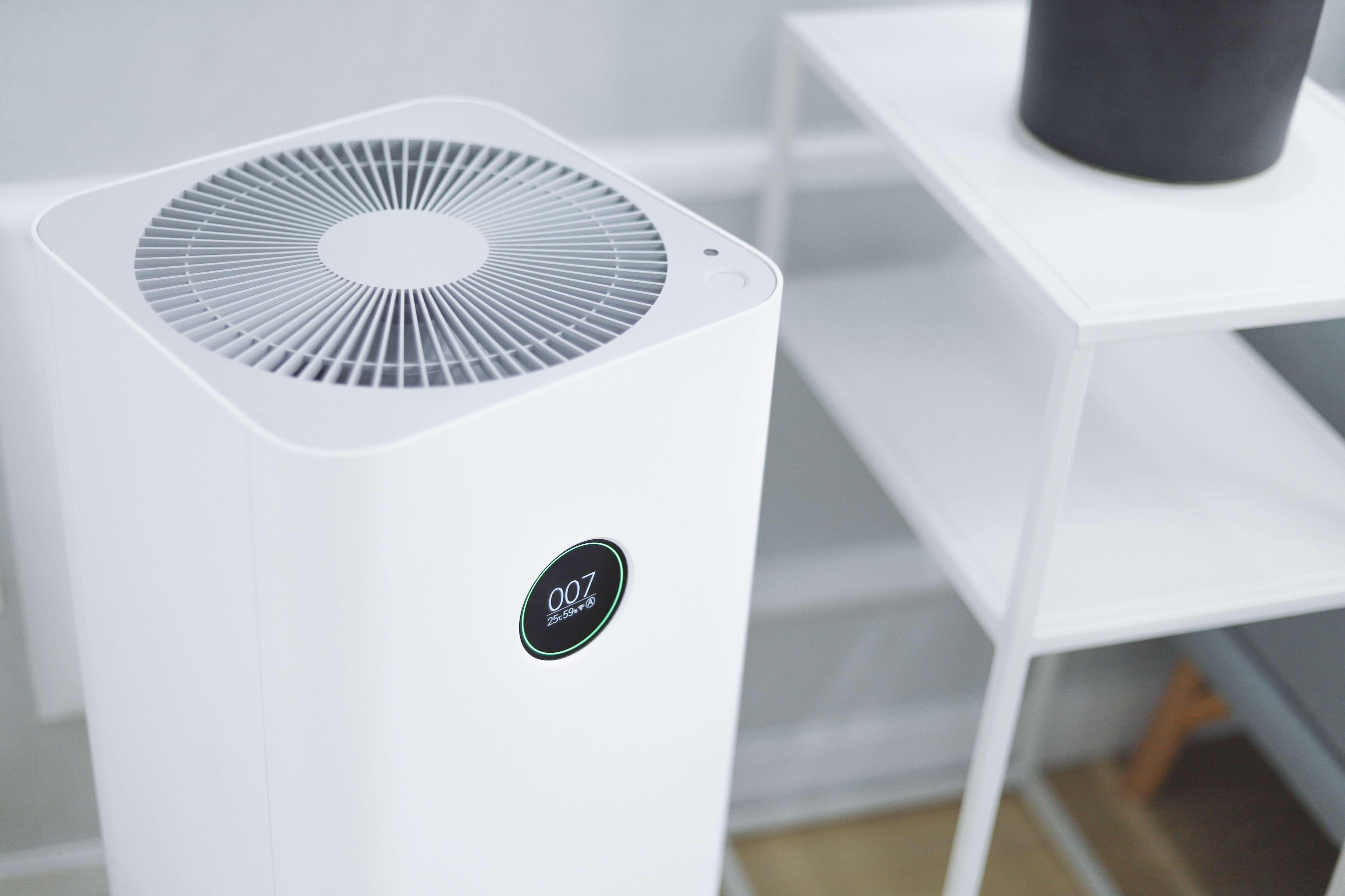 air purifier inside room