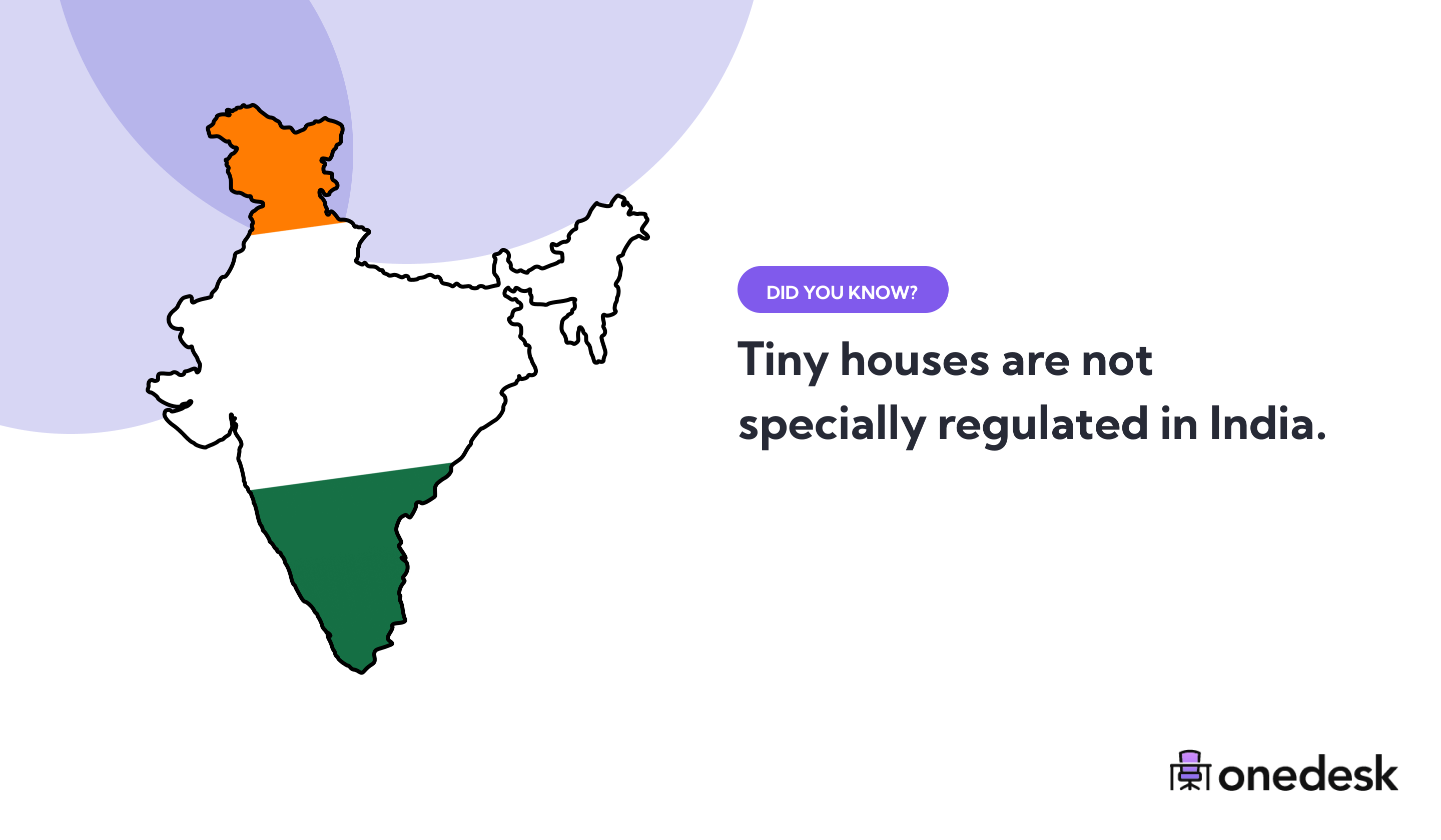 tiny house regulation in India