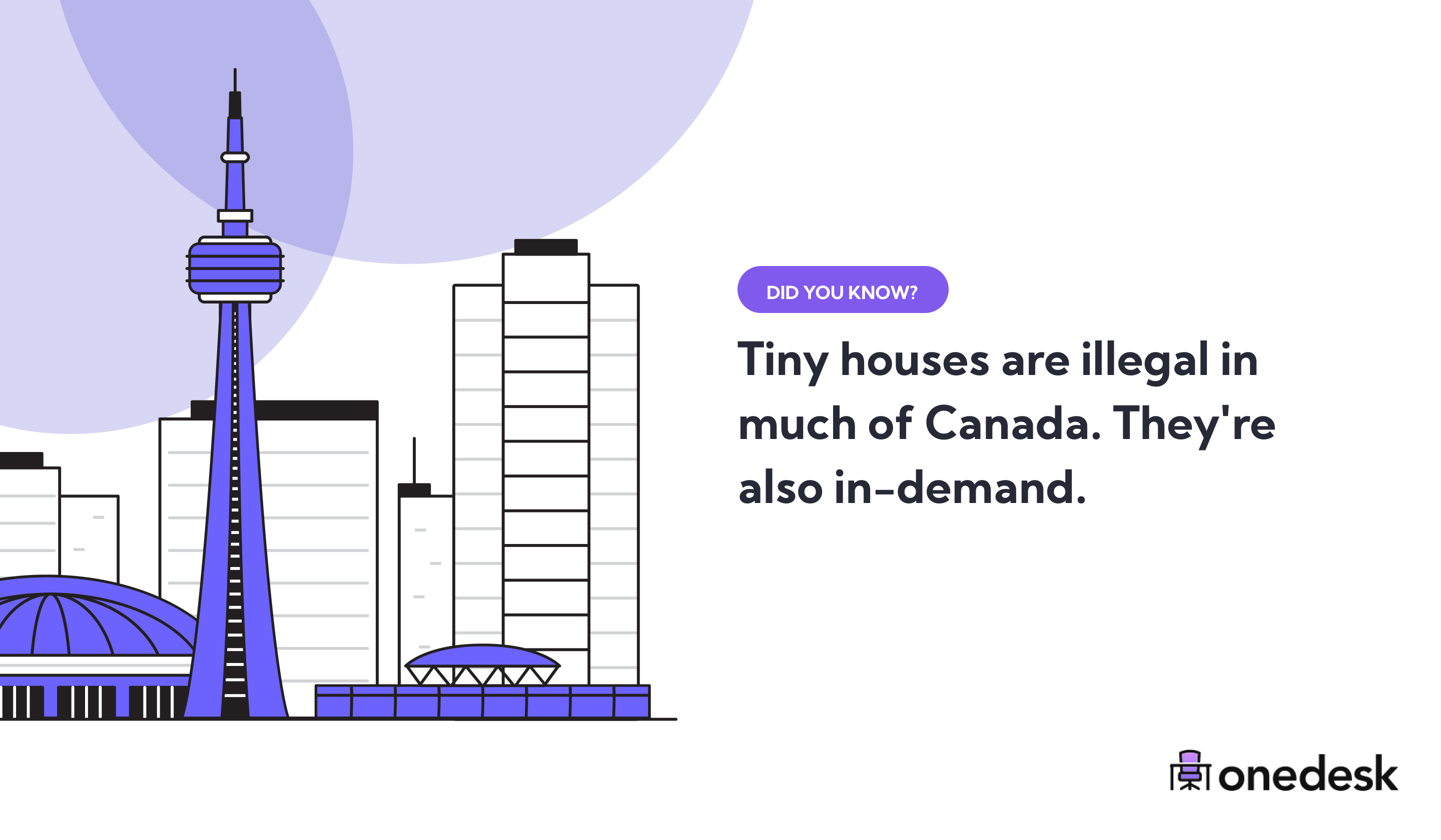 tiny houses are illegal in most of canada