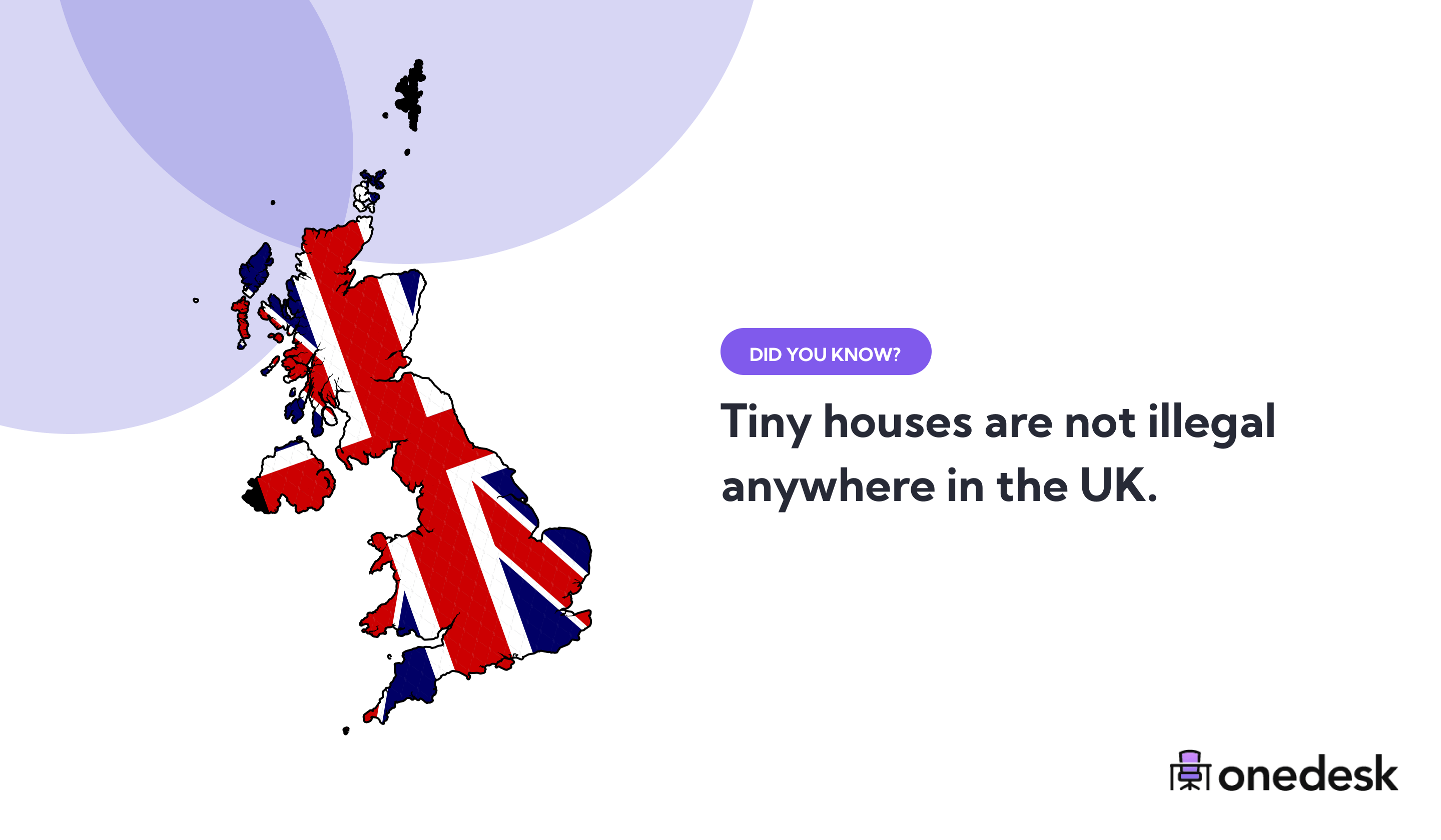 tiny houses are not illegal in the united kingdom