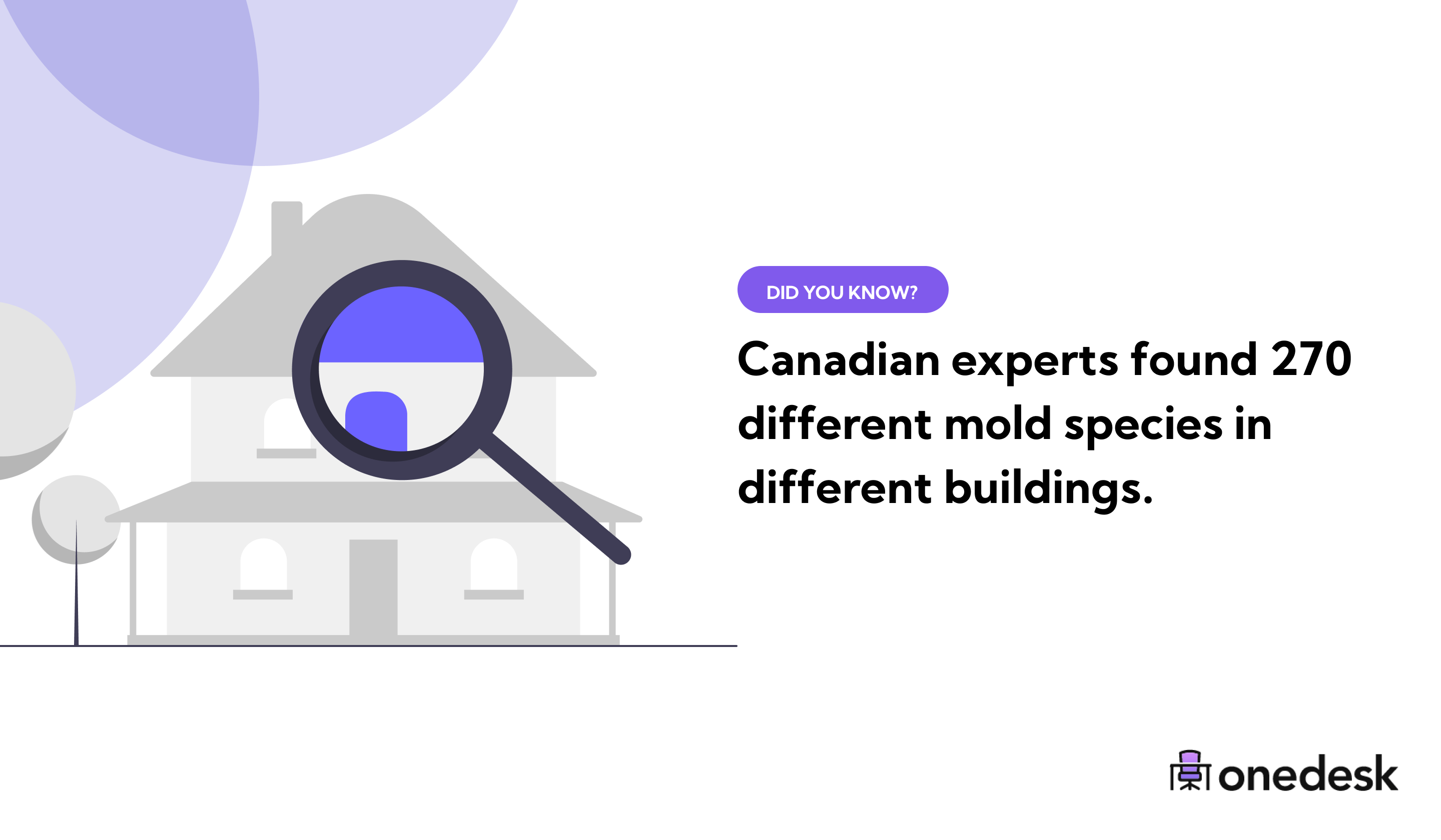 different mold species in canada