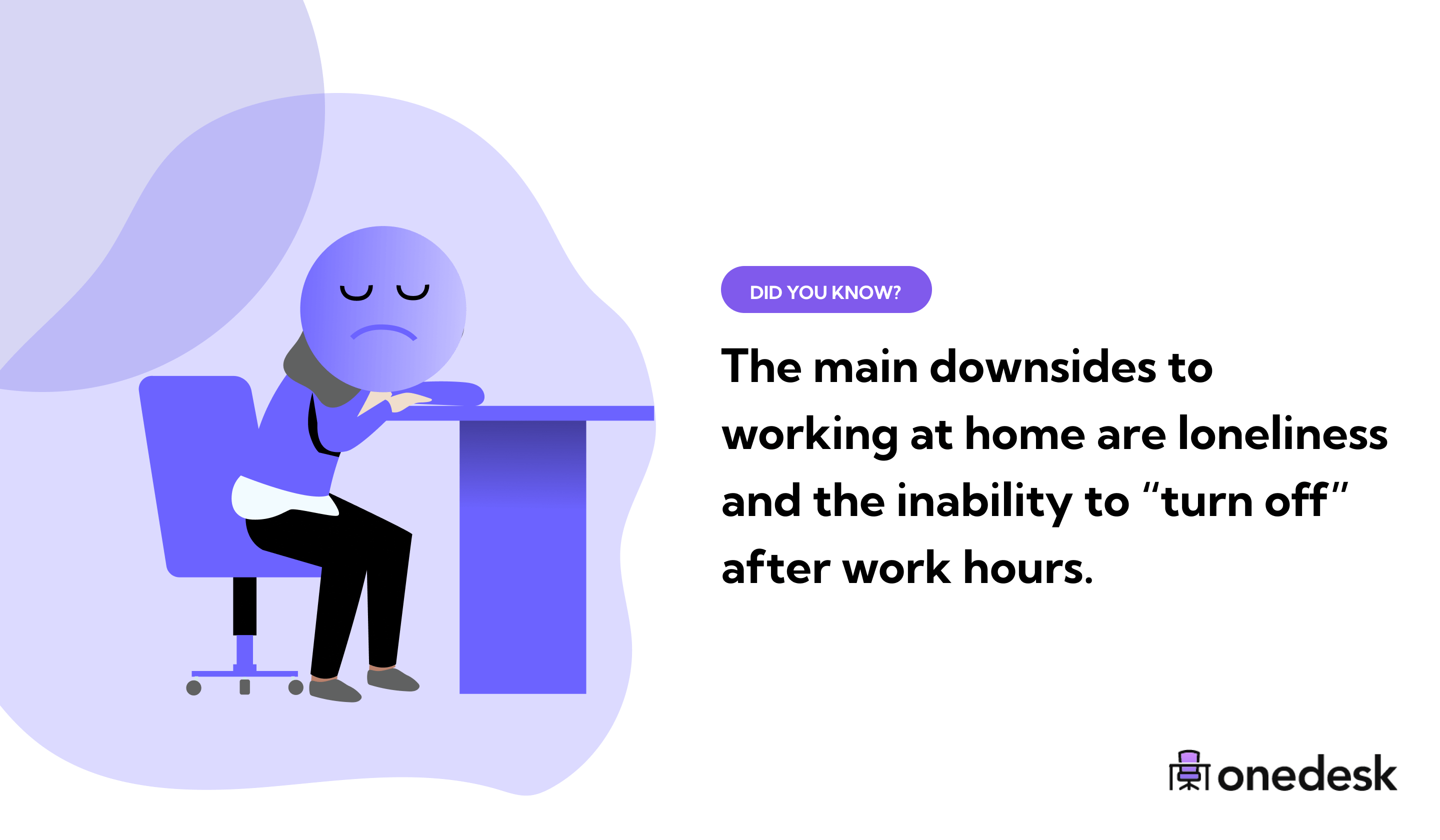 downsides to remote working