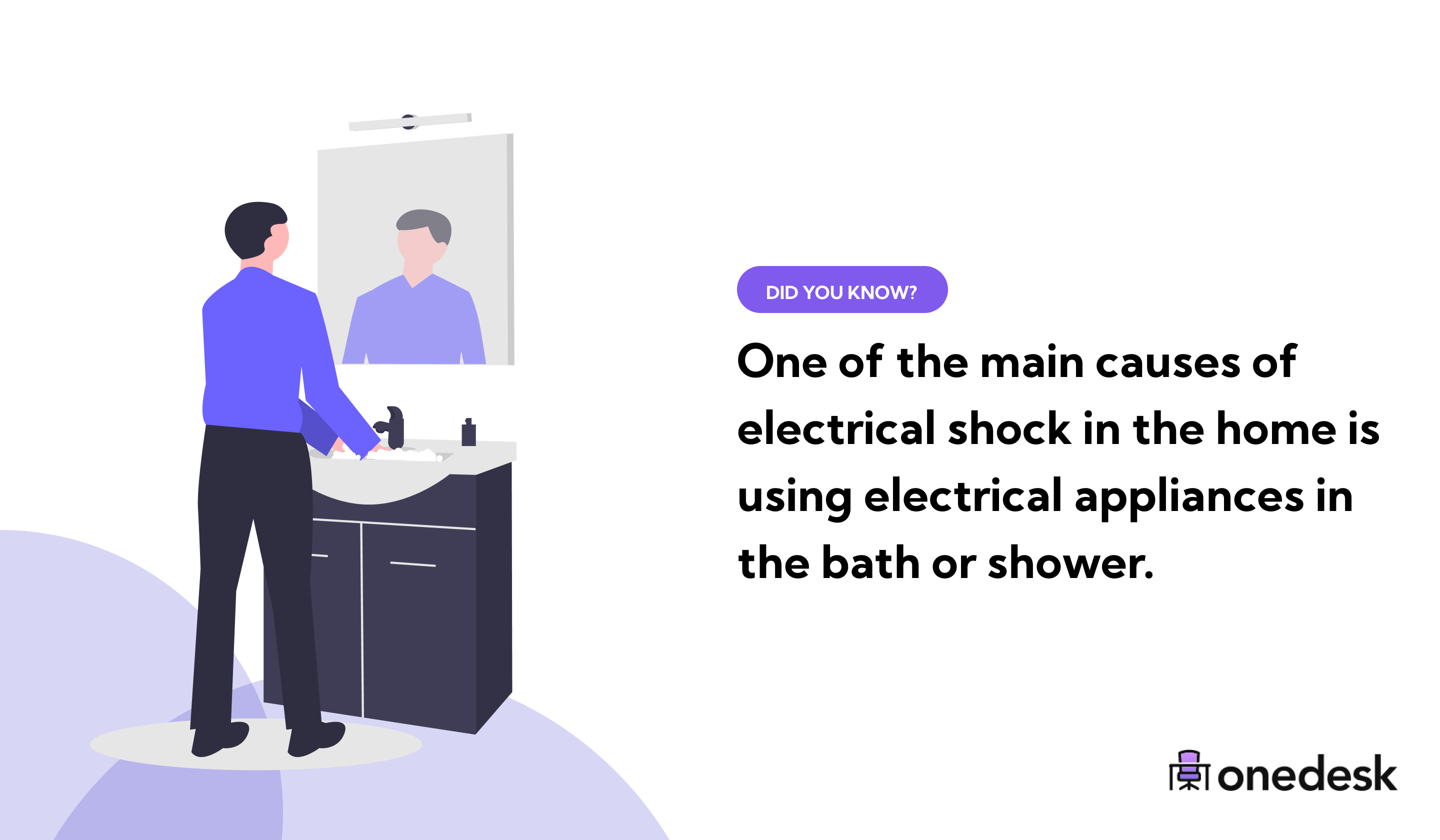 main causes of electrical shock in the home