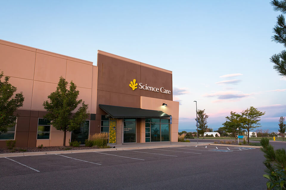 Science Care's Aurora, CO facility